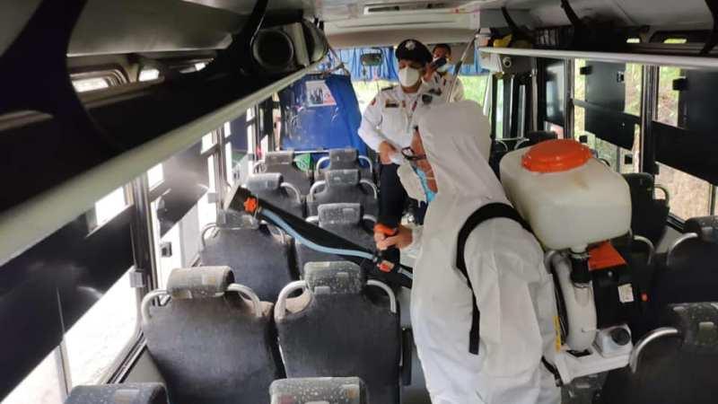 Realiza SSP más de 92 mil 479 acciones preventivas contra el Covid-19 en el transporte público