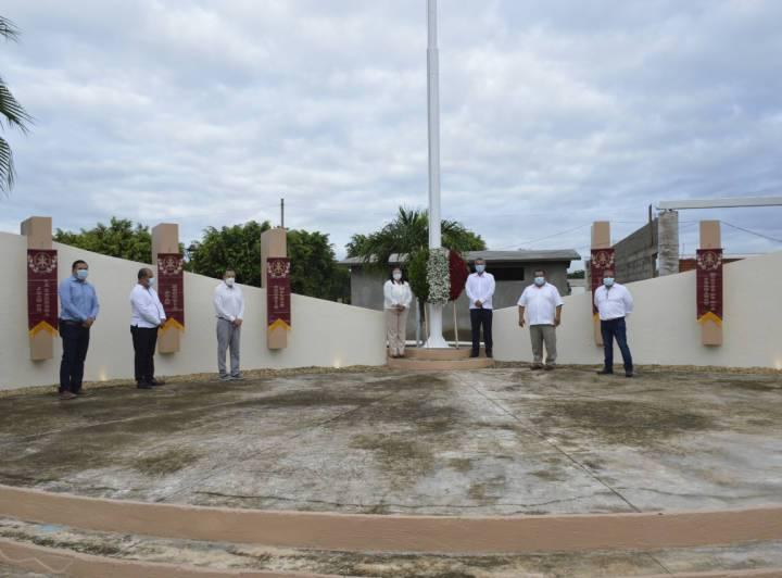 Alcalde Jorge Alberto Quinto conmemora gesta de los Niños Héroes