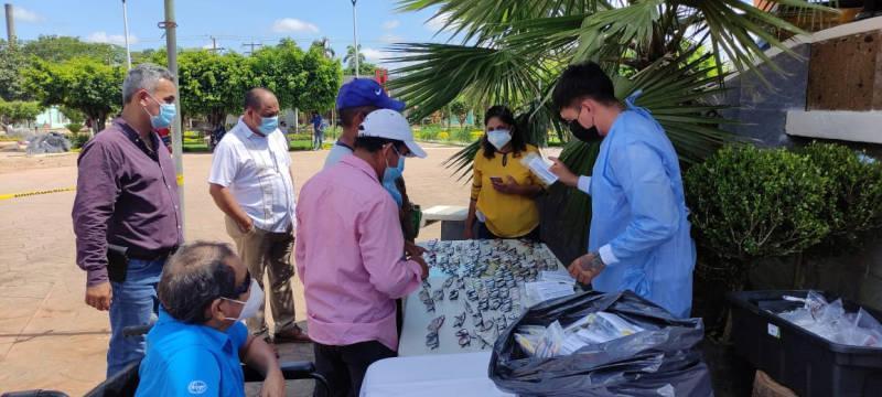 Campaña de salud visual a cargo de DIF estatal y municipal, en Hueyapan