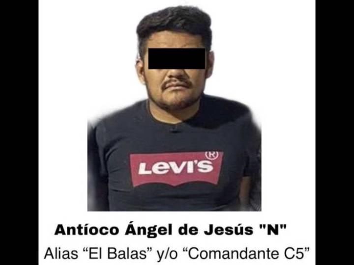 """Golpe a la delincuencia, SSP captura a """"El Balas"""" y su célula delictiva, en Xalapa"""