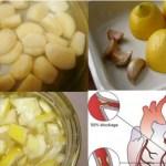 Limão com alho: mistura poderosa para reforçar o seu sistema cardíaco.