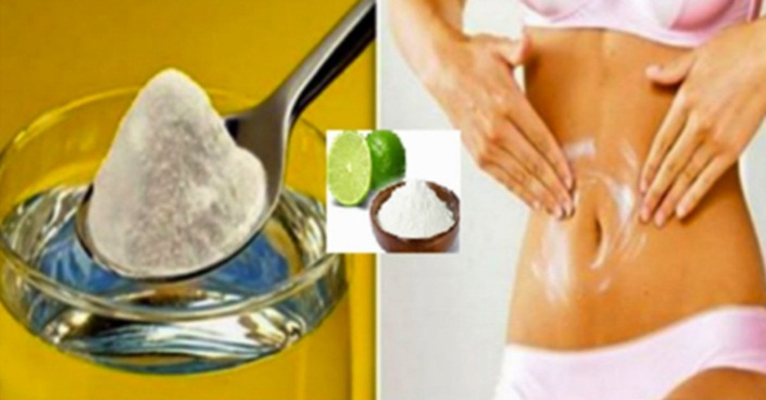 O Bicarbonato de sódio elimina a gordura da barriga de você prepará-lo desta maneira