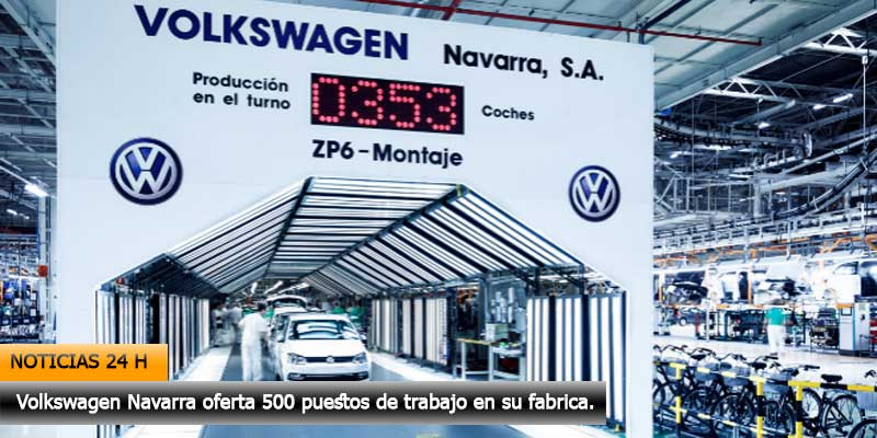 Fábrica Volkswagen Navarra oferta trabajo