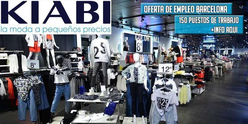 150 empleos en Kiabi Barcelona