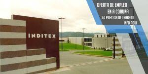 oferta de trabajo en Inditex a laracha