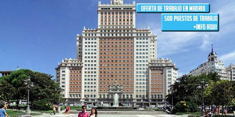 Edificio España Oferta trabajo