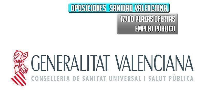 oposiciones a la sanidad valenciana