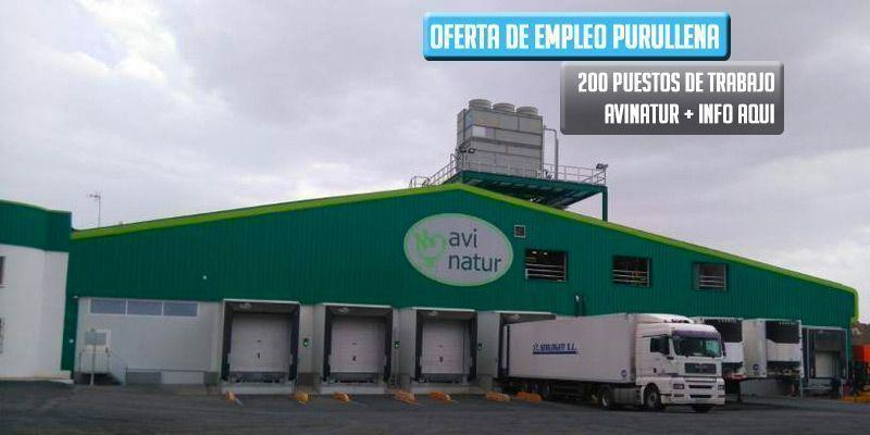 oferta de trabajo Avinatur Purullena