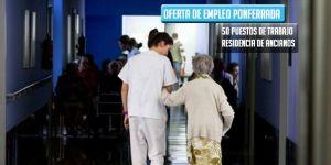 oferta de trabajo residencia de ancianos la rosaleda