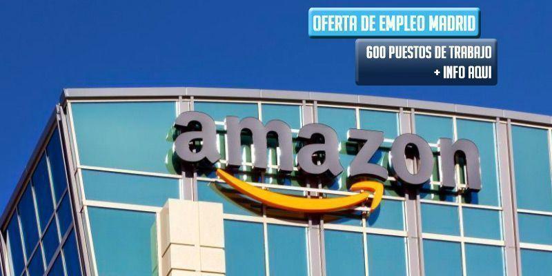oferta empleo Amazon