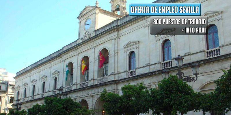 oferta de empleo ayuntamiento de Sevilla
