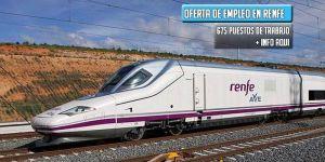 oferta de empleo público Renfe