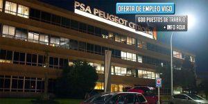 oferta de empleo Grupo PSA Citroën Peugeot en Vigo