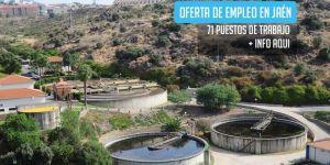 oferta de trabajo para la construcción de una depuradora en Jaén