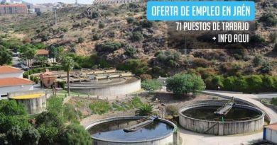 71 empleos para la construcción de una nueva depuradora en Jaén