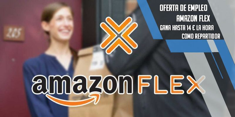oferta de trabajo amazon flex