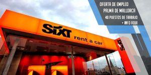 oferta de trabajo Sixt Rent a Car PalmaActiva