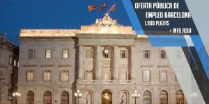 oferta publica de empleo ayuntamiento de Barcelona