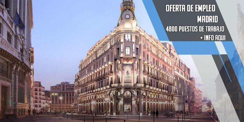oferta de empleo en Hotel Four Seasons Madrid