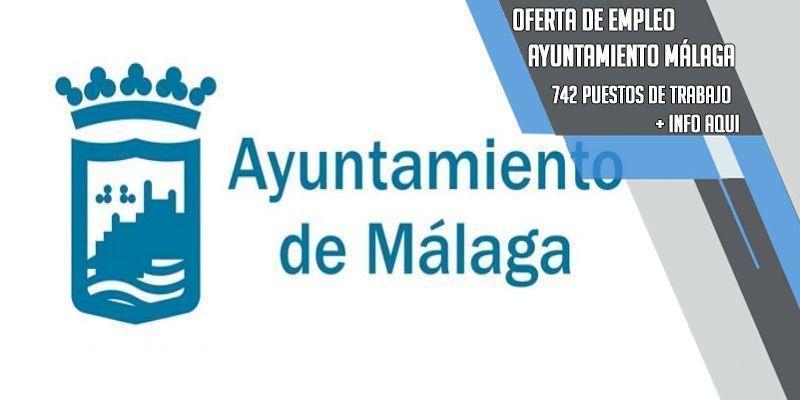 oferta de empleo para el Ayuntamiento de Málaga