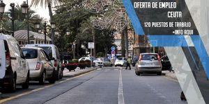 oferta de trabajo en Ceuta y trasga