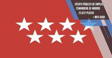 Se abre una bolsa de empleo histórica con 23672 plazas en Madrid