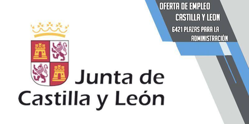oferta pública de empleo para Castilla y León