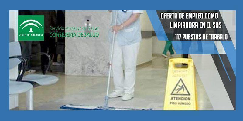 empleo como limpiadora SAS