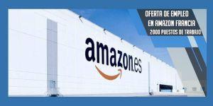 oferta de empleo en Amazon Francia