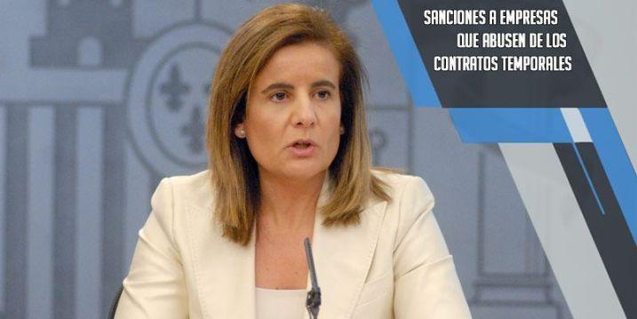 sanciones a empresas por abusar de los contratos temporales