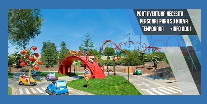 port Aventura necesita personal temporada 2018