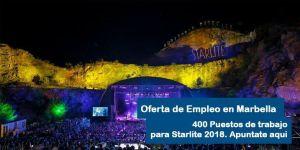 trabajar Starlite 2018