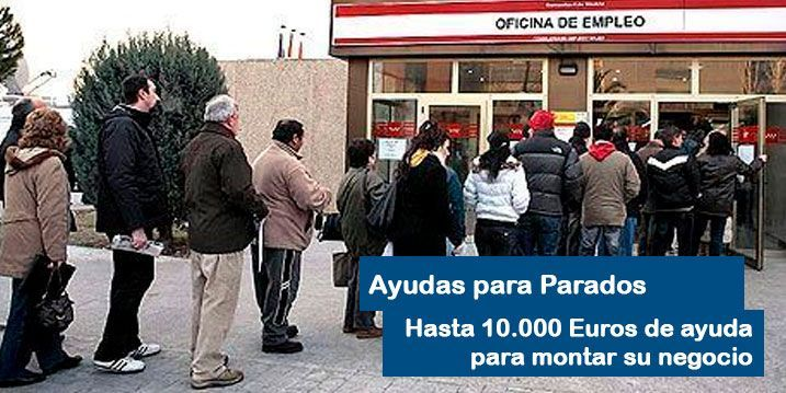 Ayuda de hasta 10.000 Euros para los parados que emprendan
