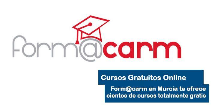 Cursos online gratis Murcia Form@carm