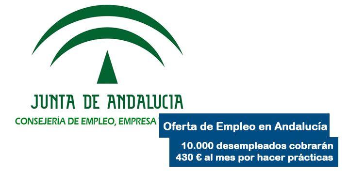 Desempleados en Andalucía cobrarán por hacer practicas