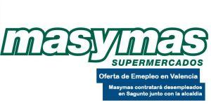 Oferta de empleo para trabajar en masymas en Sagunto valencia