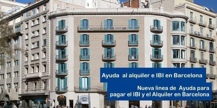 Ayuda para pagar el Alquiler y el IBI en Barcelona
