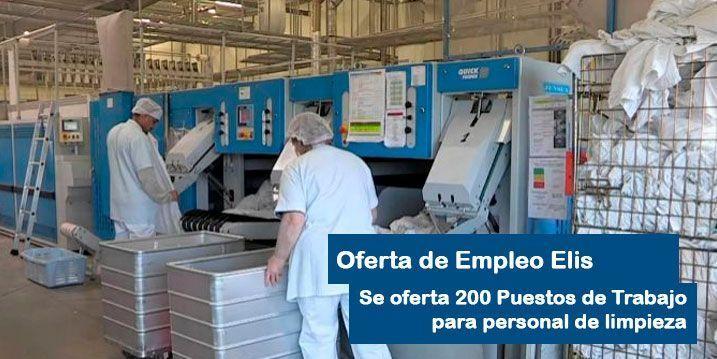 Oferta de Empleo para personal de limpieza