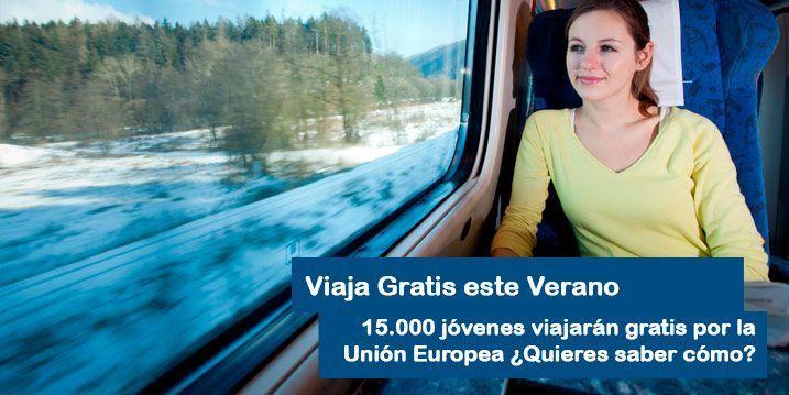 Viaja gratis por la union europea