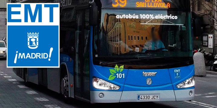transporte gratis Madrid parados