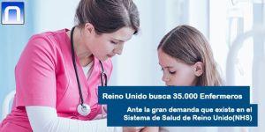 Empleo Reino Unido enfermeros
