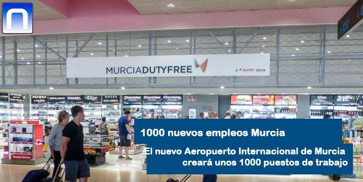 empleo aeropuerto de Murcia