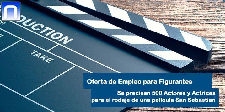 Se Buscan 500 Extras En San Sebastián E Irún Para El Rodaje De Una