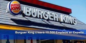 empleo Burguer King España