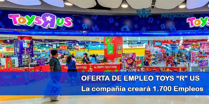 empleo toy r us navidad 2018