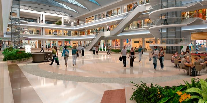 trabajar en centro comercial