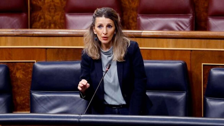 Ministra Trabajo Yolanda Diaz