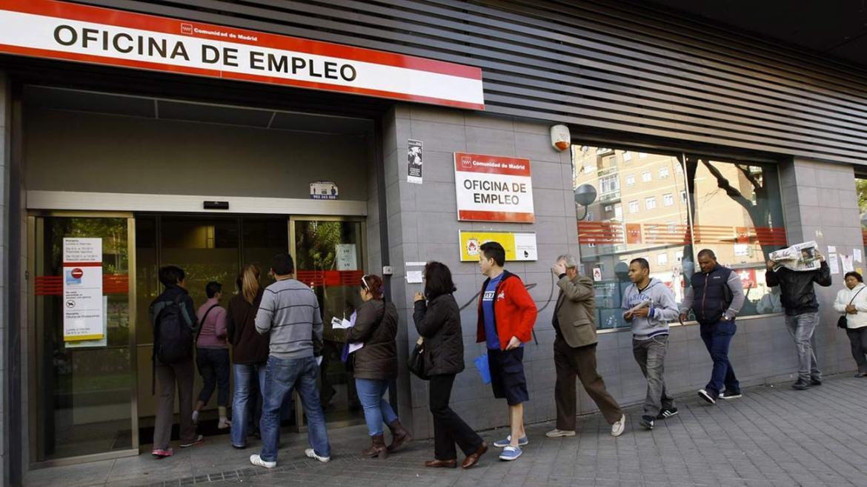 paro y desempleo ERTE