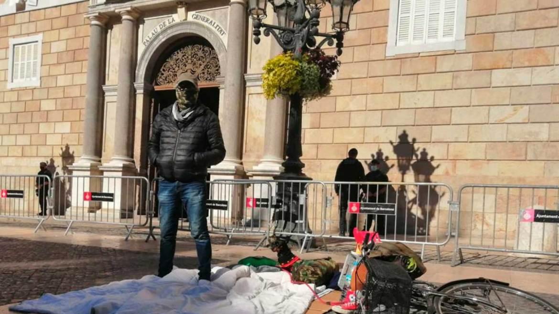La Seguridad Social paga el Ingreso Minimo Vital al hombre en paro que inicio una huelga de hambre