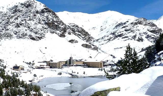 Estación de esquí de Vall de Nùria